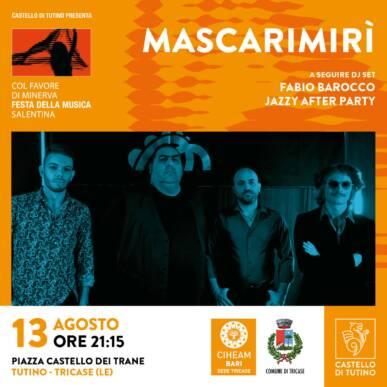 Mascarimirì per la festa 'Col Favore di Minerva' @ Castello di Tutino – 13/08/2021