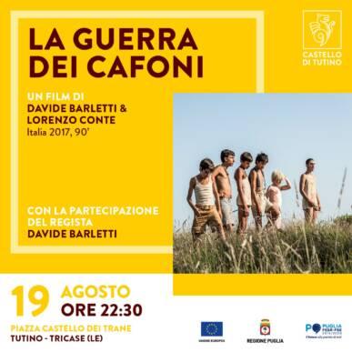 LA GUERRA DEI CAFONI, un film di Davide Barletti e Lorenzo Conte (Italia, 2017, 90′)