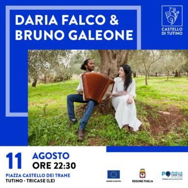 Concerto – Daria Falco & Bruno Galeone – Castello di Tutino 11/08/2021