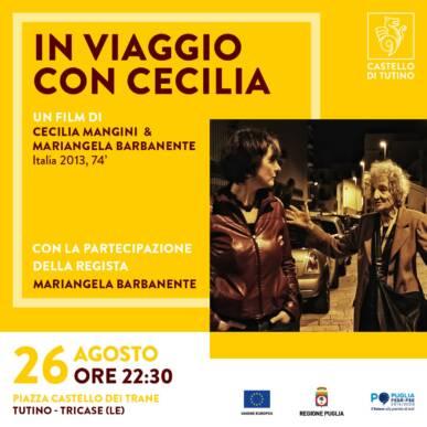 IN VIAGGIO CON CECILIA , un film di Cecilia Mangini e Mariangela Barbanente (Italia 2013, 74')