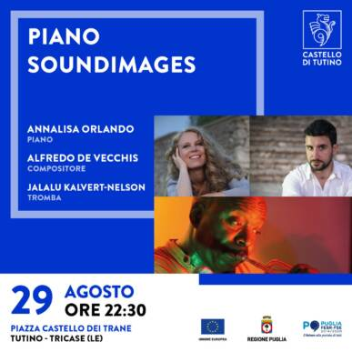 Concerto – Soundmages Trio – Annalisa Orlando, Alfredo De Vecchis, Jalalu Kalvert-Nelson – Castello di Tutino 29/08/2021 – ore 22:30