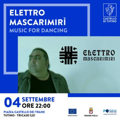 Concerto – Elettro Mascarimirì – Castello di Tutino 04/09/2021 – ore 22:30