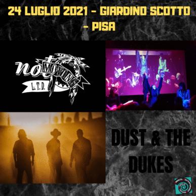NOT MOVING LTD + DUST & THE DUKES @ GIARDINO SCOTTO – PISA