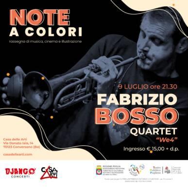 """Fabrizio Bosso Quartet """"We4"""""""