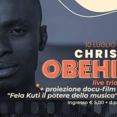 Chris OBEHI live Trio