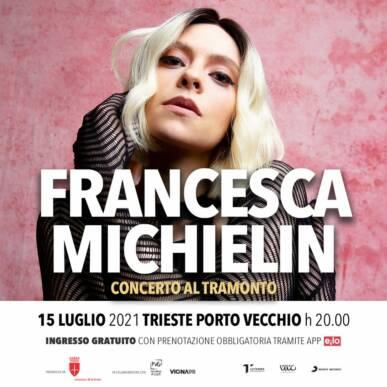 FRANCESCA MICHIELIN_concerto al tramonto@TRIESTE PORTO VECCHIO il 15 Luglio
