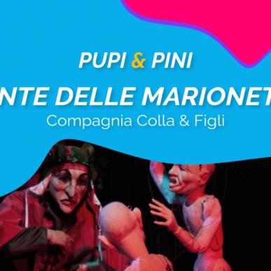 """""""DANTE DELLE MARIONETTE"""", COMPAGNIA COLLA E FIGLI @ARENA ALPE ADRIA il 19 Luglio"""