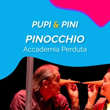 """""""PINOCCHIO"""", ACCADEMIA PERDUTA @ARENA ALPE ADRIA il 20 Luglio"""