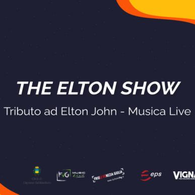 THE ELTON SHOW – TRIBUTO AD ELTON JOHN @ARENA ALPE ADRIA il 23 Luglio