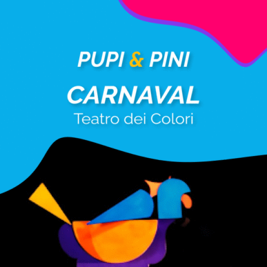 """""""CARNAVAL"""", TEATRO DEI COLORI @ARENA ALPE ADRIA il 25 Agosto"""