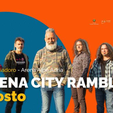 MODENA CITY RAMBLERS @ARENA ALPE ADRIA il 7 Agosto