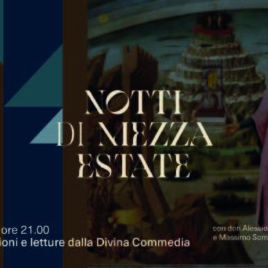 Su Dante, riflessioni e letture dalla Divina Commedia @Chiesetta di Santa Maria del Mare il 16 Luglio