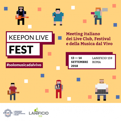 KeepOn LIVE FEST 2018_ Booking