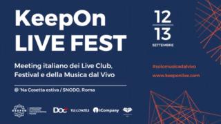 KeepOn LIVE FEST Day – 12 e 13 settembre 2019