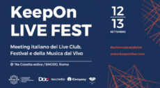 KeepOn LIVE FEST Day – 12 e 13 settembre 2019