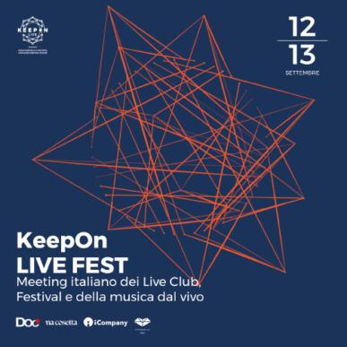 KeepOn LIVE FEST – LIVE PARADE SHOW 12 settembre 2019