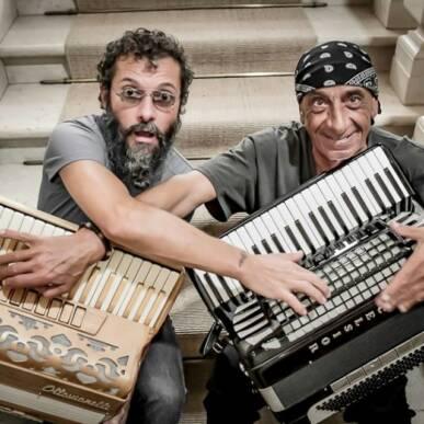 ANTONELLO SALIS E SIMONE ZANCHINI @VillaMediceadiPoggioImperiale – 05 Luglio