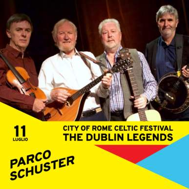 Rome Celtic Festival – The Dublin Legends