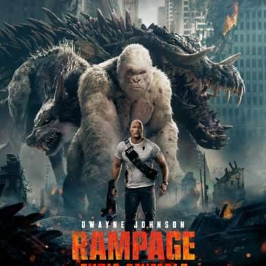 RAMPAGE – FURIA ANIMALE all'Arena Green Paradise il 19 luglio 2018