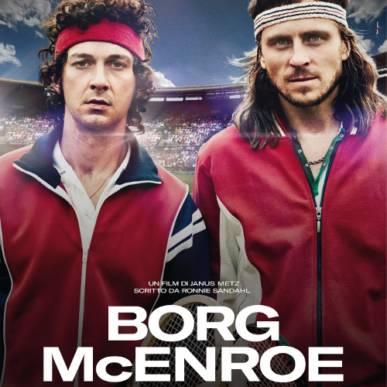 BORG McENROE Area Cinema Green Paradise il 23 luglio 2018