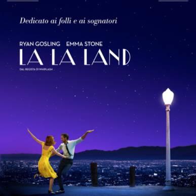 LA LA LAND Area Cinema Green Paradise il 30 luglio 2018