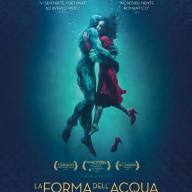 LA FORMA DELL'ACQUA Area Cinema Green Paradise il 13 agosto 2018