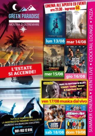 LA STANZA DELLE MERAVIGLIE Area Cinema Green Paradise il 14 agosto 2018