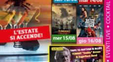 JUSTICE LEAGUE Area Cinema Green Paradise il 16 agosto 2018
