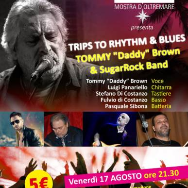 Musica dal Vivo TRIPS TO RHYTHM & BLUES Area Cinema Green Paradise il 17 agosto 2018