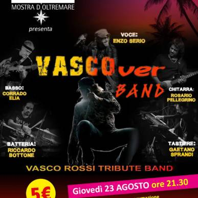 Musica dal Vivo VASCOVER BAND Area Cinema Green Paradise il 23 agosto 2018