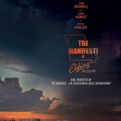 TRE MANIFESTI A EBBING, MISSOURI Area Cinema Green Paradise il 20 agosto 2018