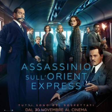 ASSASSINIO SULL'ORIENT EXPRESS Area Cinema Green Paradise il 24 agosto 2018