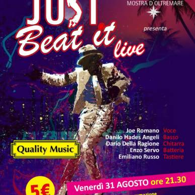 Musica dal Vivo JUST BEAT IT Area Cinema Green Paradise il 31 agosto 2018