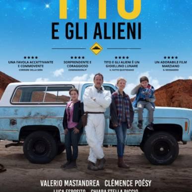 TITO E GLI ALIENI all'Arena Puteolana il 2 agosto 2018
