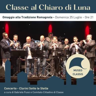 Concerto omaggio alla tradizione Romagnola – CLARINI SOTTO LE STELLE – CLASSE AL CHIARO DI LUNA