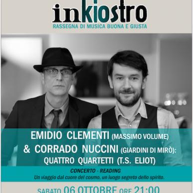Inkiostro presenta: Clementi & Nuccini per Quattro Quartetti