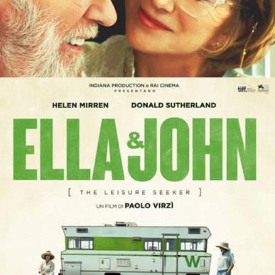 ELLA & JOHN all' Arena del Poggio il 6 settembre 2018