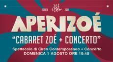 """★ """"APERIZOÉ + CONCERTO"""" ★ SPETTACOLO MUSICALE DI CIRCO CONTEMPORANEO – 01/08/21"""