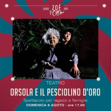 ★ ORSOLA E IL PESCIOLINO D'ORO ★ COMPAGNIA ORTIKA – TEATRO