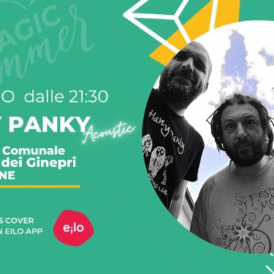 """Hanky Panky Acoustic """"Magic Summer"""" @BIBIONE il 24 Giugno"""