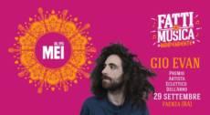 Gio Evan – Evento esclusivo al MEI