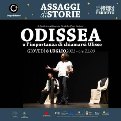 L'Odissea o l'importanza di chiamarsi Ulisse – Assaggi di storie