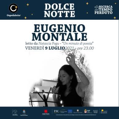 Eugenio Montale letto da Natascia Fogu – Dolce Notte