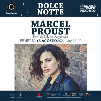 Marcel Proust letto da Diletta Acquaviva – Dolce Notte