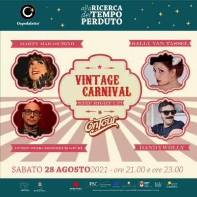 Vintage Carnival – Cabaret & Burlesque show