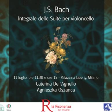 J.S.Bach – Le Suites per Violoncello I