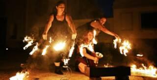 Accampamento storico, antichi mestieri, spettacoli con il fuoco e grigliate
