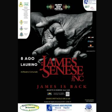 James Senese ¬ Napoli Centrale@Laurino 8 agosto 2021