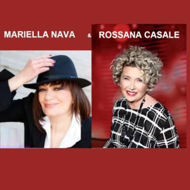 Rossana Casale & Mariella Nava @Castello Angioino Agropoli 5 settembre 2021