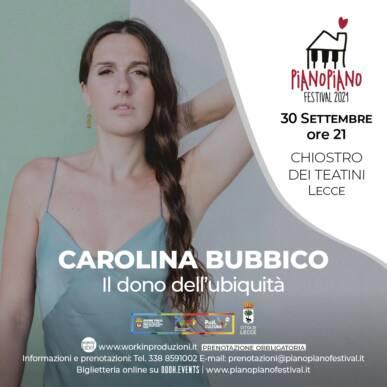 """Carolina Bubbico """"Il dono dell'ubiquità"""""""